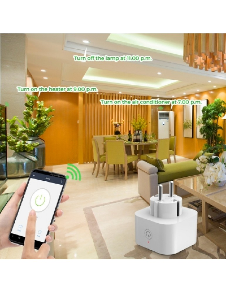 2PCS Elelight PE1004T WiFi Smart Sockets